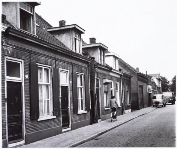 033992 - Voorgevels van de panden Vincentiusstraat 52 tot en met 58 (alle even)
