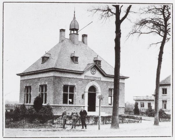 056970 - Raadhuisstraat. Gemeentehuis Moergestel