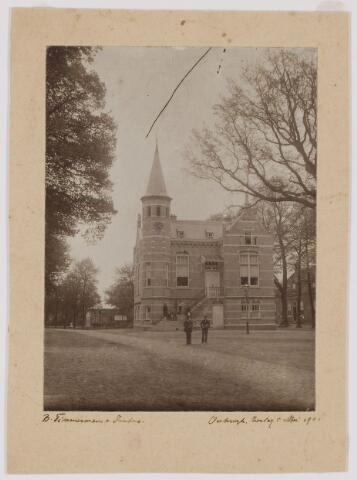 078756 - Het gemeentehuis op De Lind te Oisterwijk. (1901)