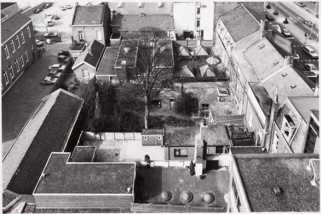 036644 - Panorama van Tilburg vanaf de flat aan de Spoorlaan 392