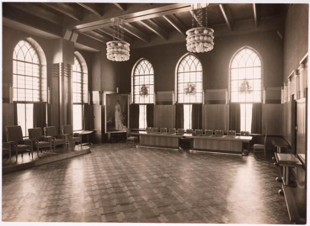 032168 - Interieur van het Paleis-Raadhuis aan het Stadhuisplein