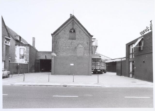 019463 - Bedrijfspand van houthandel Appels aan de Goirkestraat, gelegen naast wollenstoffenfabriek H.F.C. Enneking