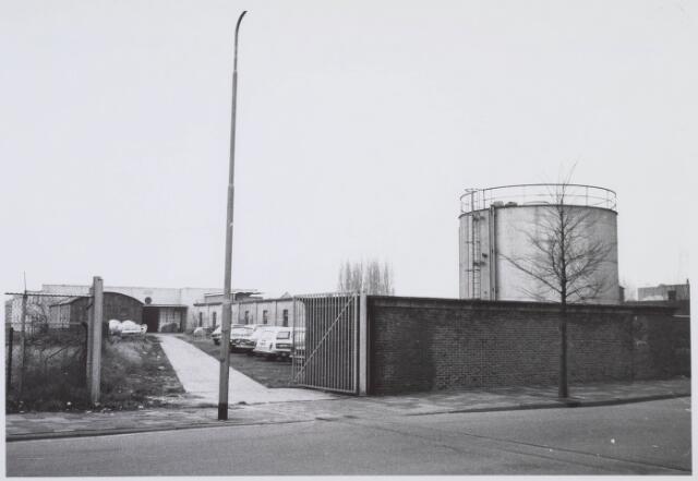018353 - Textielindustrie. Gedeelte van de gebouwen van AaBe Wollenstoffen-en Wollendekenfabrieken aan de Fatimastraat.