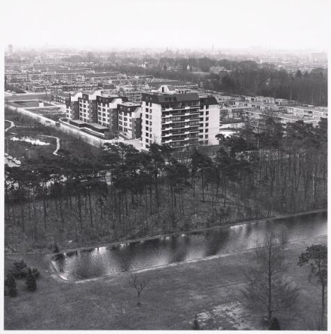 036431 - Panorama van Tilburg vanaf de Hogeschool.