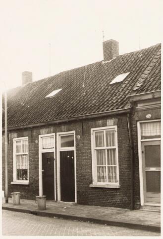 032920 - Voorgevels van de panden aan de Stevenzandsestraat 150, 152 en 154