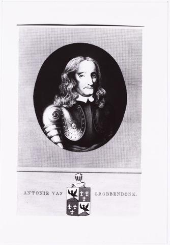 008263 - Kopie van gravure. Antonie Schets, baron van Grobbendonk.  (zie reactie)
