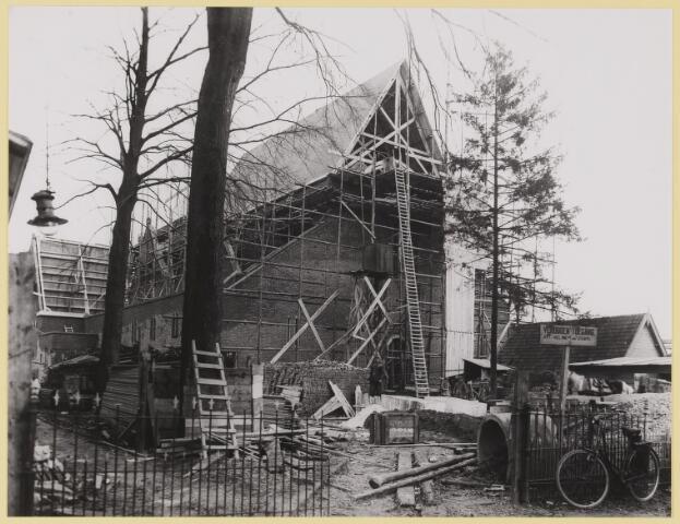 076537 - De Joannes Kerk in aanbouw febr. 1928