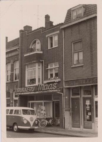 018223 - Drukkerij Maas aan de Emmastraat anno 1965