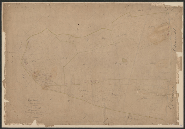652573 - Kadasterkaart Tilburg, Sectie A (Heikant), blad 2. Schaal 1:2500. z.j.