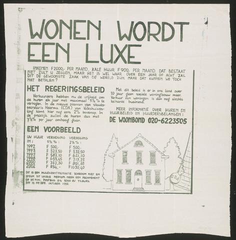 668_1992_289 - Wonen wordt een luxe