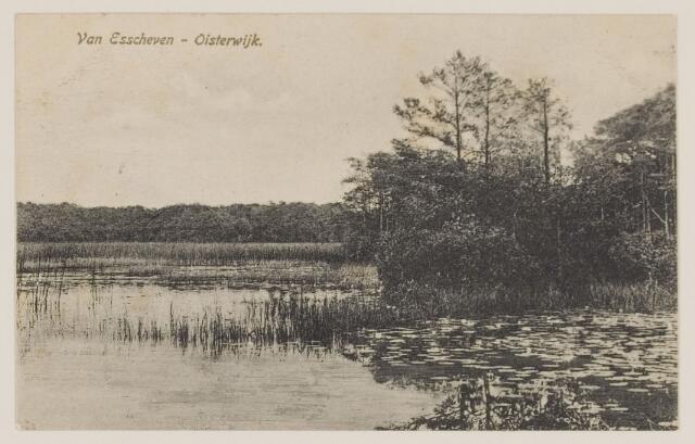 075178 - Serie ansichten over de Oisterwijkse Vennen.  Ven: Van Essenven. (Van Escheven)