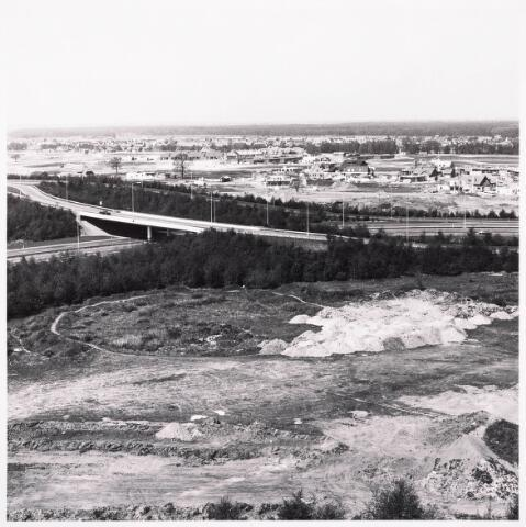 036506 - Panorama van Tilburg vanaf de bejaardenflat 't Laar.