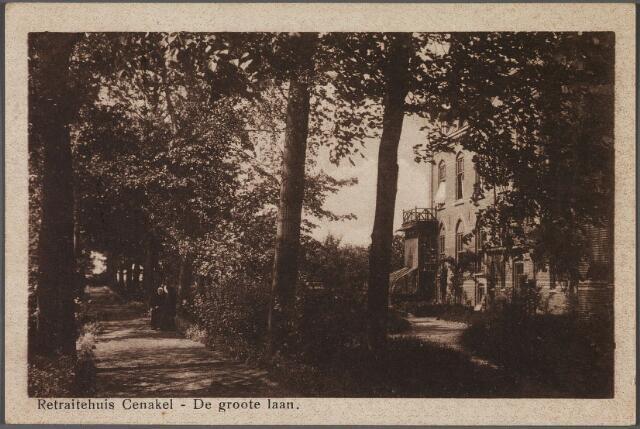 010984 - Laan bij retraitehuis en klooster van O.L.V. van het Cenakel aan de Koningshoeven, thans Kempenbaan.