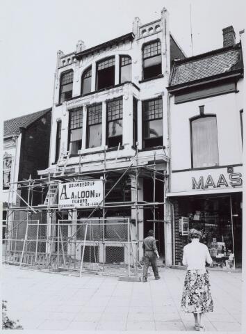 021087 - Renovatie van het pand Heuvel 22, waarin café-restaurant-tearoom Royal gevestigd zou worden. Voorheen waren in dit pand ook andere horecagelegenheden gevesigd, zoals enkele Chinese restaurants