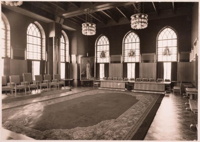 032169 - Interieur van het Paleis-Raadhuis aan het Stadhuisplein