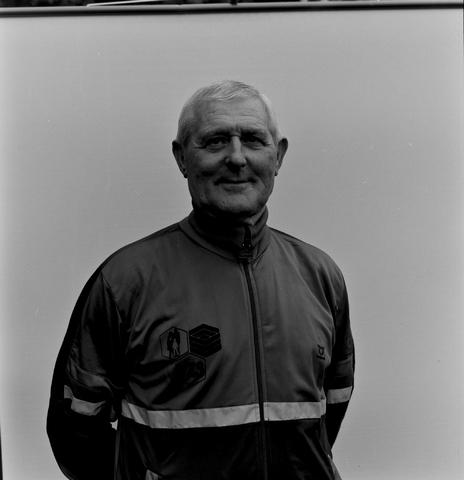 1237_011_818_021 - Sport. Voetbal. Serie portretten van de selectie van Willem II in september 1984. Sjef van Weert, materiaalman bij de club.