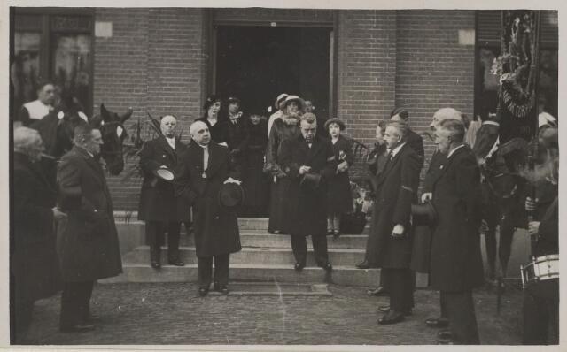 058776 - 25 jarig ambtjulilem van burgemeester D. Smits 1935.