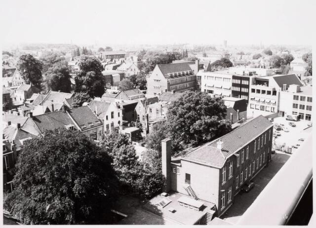 036641 - Panorama van Tilburg vanaf de flat aan de Spoorlaan 392