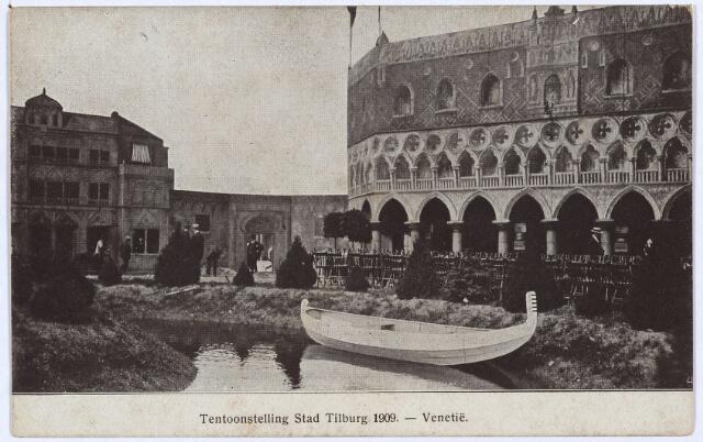 003294 - 'Venetië' op de tentoonstelling Stad Tilburg.