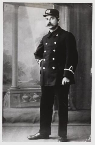 103621 - Brandweer. Fr. van Son brandweerman.