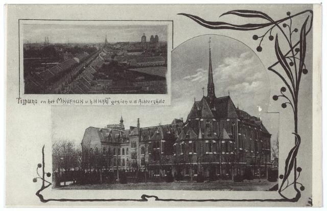 000160 - Missiehuis van de missionarissen van het H. Hart aan de Bredaseweg, achterzijde.