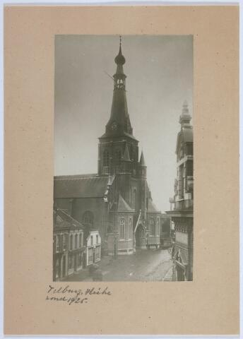 027832 - Oude Markt. Parochiekerk van de H. Dionysius (Heike).