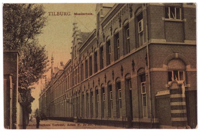 001745 - Oude Dijk, gevelwand moederhuis van de zusters van liefde.