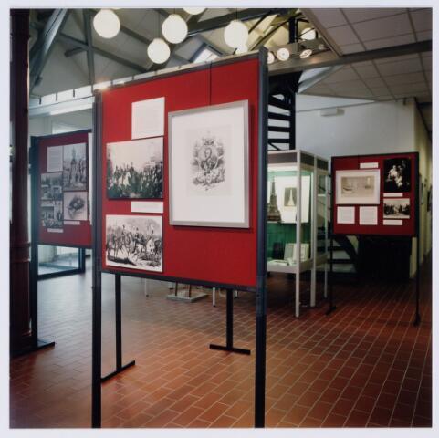 049245 - Tentoonstelling van Willem II t.g.v. zijn 150e sterfdag in 1999. Regionaal archief Tilburg, Kazernehof 75