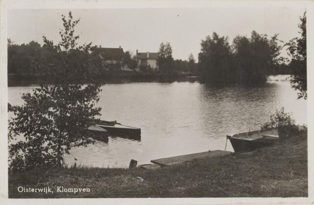 075245 - Serie ansichten over de Oisterwijkse Vennen.  Ven: Klompven