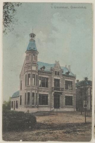 059028 - Gemeentehuis aan de Hoofdstraat.