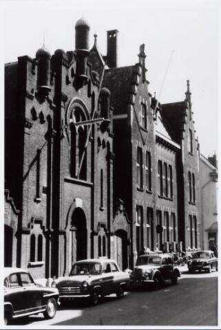 035248 - Joodse synagoge aan de Willem II-straat.