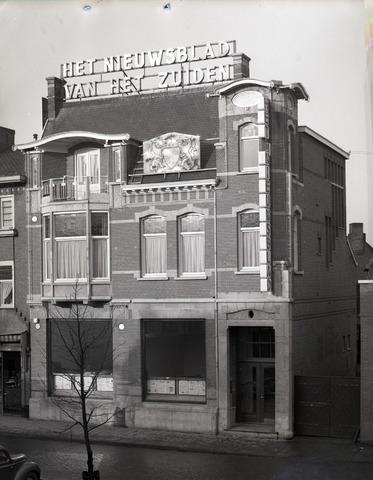 653835 - Gebouw van Het Nieuwsblad Van Het Zuiden.