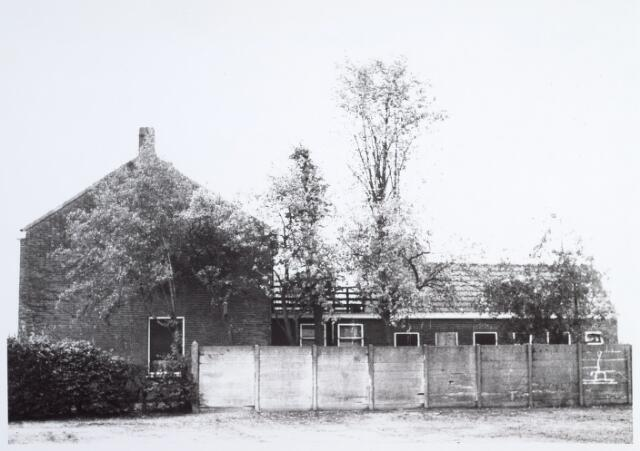 014777 - Zijgevel van het pand Berkdijksstraat 182b