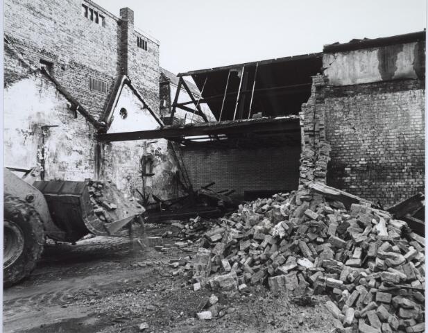 025507 - Pand van de voormalige wijnhandel Verbunt aan de Langestraat ten tijde van de sloop begin 1978