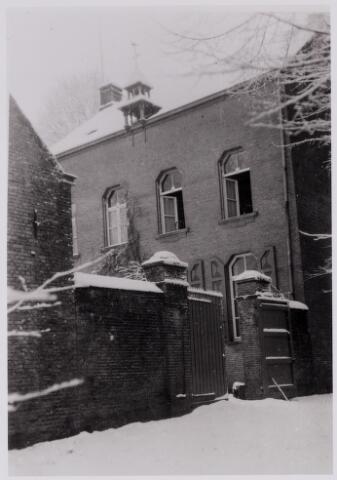 084411 - Achterzijde jachthuis op Gorp.