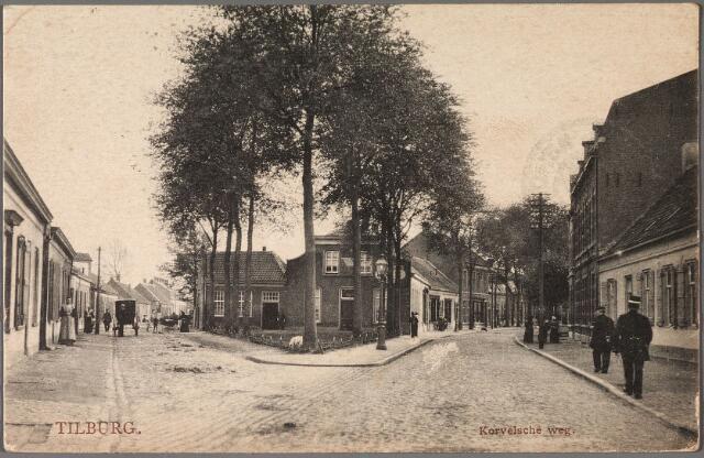 011048 - St. Annaplein, rechts de Korvelseweg, links de Trouwlaan.