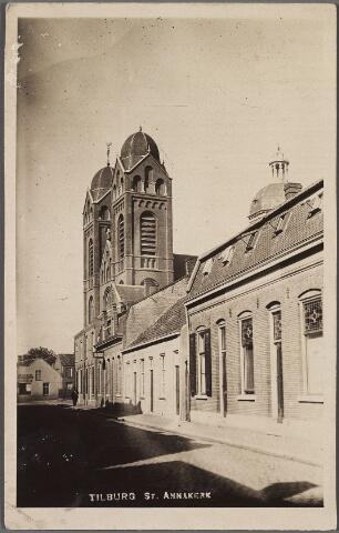 010392 - Capucijnenstraat met St. Annakerk.