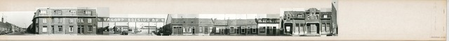 1625_0288 - Fotostrook; straatwand; panden aan de linten en hoofdverbindingswegen in het centrum van de stad;