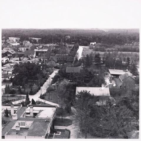 036496 - Panorama van Tilburg vanaf de flat aan het Kwendelhof.