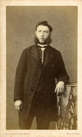 092927 - Wolhandelaar Franciscus Gerardus Wouters, geboren te Tilburg op 31 januari 1824 en aldaar overleden op 28 februari 1871. Hij trouwde met Margaretha Reijners en was een zoon van Cornelis Wouters en Maria Theresia Adriana Cleijsen.