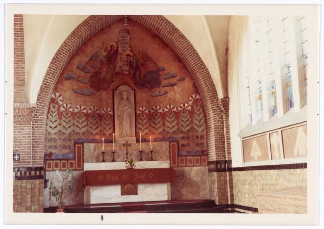 016567 - Zijaltaar in de kerk van de Heilige Familie, behorende tot de parochie Broekhoven II