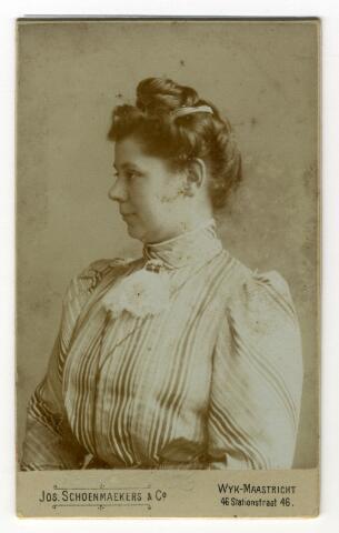 650400 - Schmidlin. Johanna Roelina Schmidlin-Dubois, 1906.