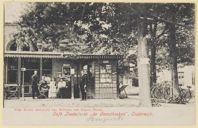 """073714 - Café Restaurant """"de Gemulhoeken""""aan de Gemullehoekenweg."""
