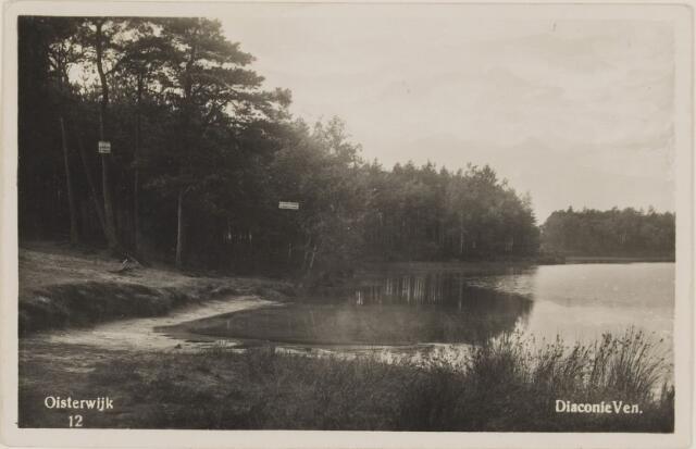 075141 - Serie ansichten over de Oisterwijkse Vennen.  Ven: Diaconieven.