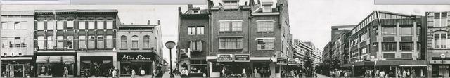 1625_0112 - Fotostrook; straatwand; panden aan de linten en hoofdverbindingswegen in het centrum van de stad; Heuvelstraat 42A-56; foto's werden tussen 1976 en 1985 gemaakt. (foto gemaakt in periode 1976-1985)