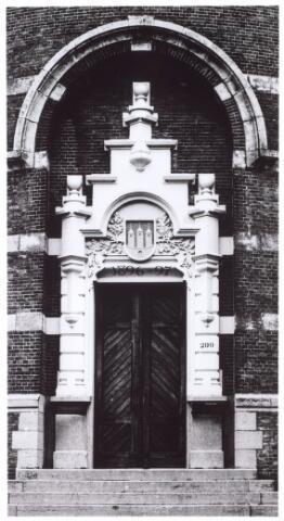016102 - Ingang van de watertoren aan de Bredaseweg