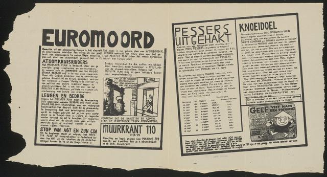 668_1982_110 - Muurkrant: Euromoord