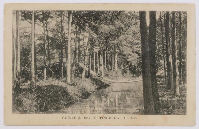 046541 - De kettingbrug, een van attracties van hotel De Golf op Nieuwkerk.