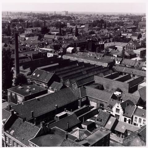 036592 - Panorama van Tilburg vanaf de P.T.T. Toren