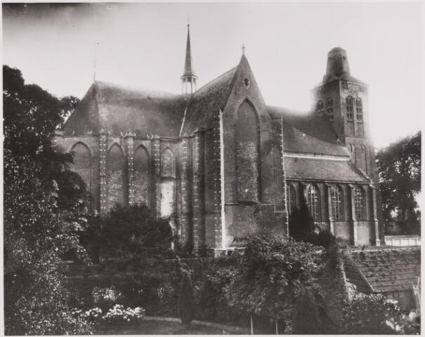 085510 - Kerken. NH Kerk. Laurentiuskerk vanuit het noordoosten.